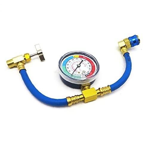Kit di alimentazione aria condizionata R134A CA calibro di pressione dell'automobile del refrigerante del refrigerante, tubo di riempimento del refrigerante del refrigerante, con lo