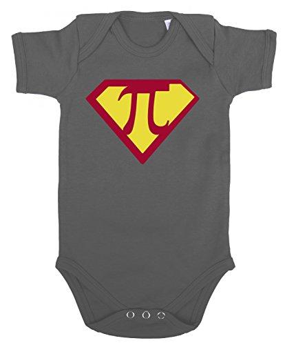 Sambosa Super Pi Body bébé, Farbe2:Grau;Größe2:62