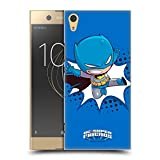 Head Hülle Designs Offizielle Super Friends DC Comics Batman Kleine Kinder 1 Harte Rueckseiten Huelle kompatibel mit Sony Xperia XA1 Ultra/Dual