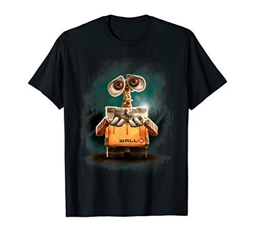 Disney Pixar Wall-E Plant Shoe Night Graphic T-Shirt