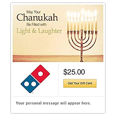 Dominos Chanukah - Light and Laughter Gift Cards - Email Delivery