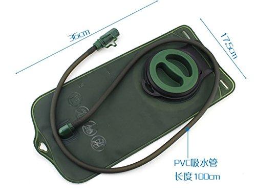 TMODD 2L sacchetto della vescica dell' acqua zaino sistema di idratazione CamelBak Pack hiking Camp