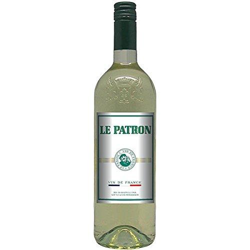 Le Patron blanc Weißwein 6 x 1 l trocken (12 Vol. %)