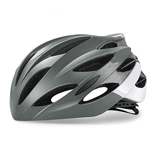 Casco Bicicleta Casco de Ciclismo Ultraligero Racing con Gafas de Sol Moldeada intergrally MTB Casco Mountain Road Bike Casco B