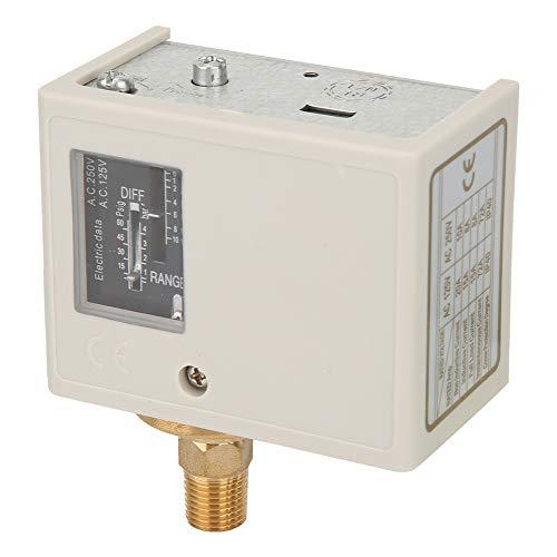 Interruptor de bomba de compresor de aire, controlador de presión electrónico Instalación simple Interruptor anticorrosión y duradero para equipos de refrigeración