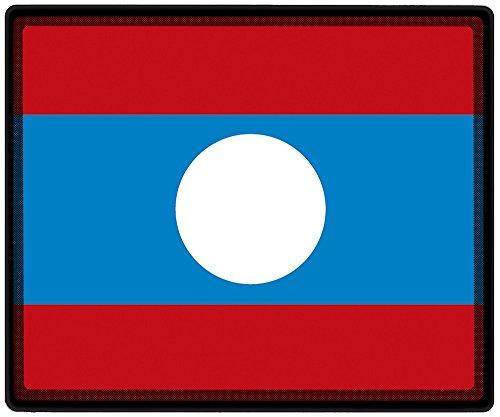 Muismat muismat met motief - Laos vaandel voetbalschoenen - 82090 - maat ca. 24 x 20 cm.