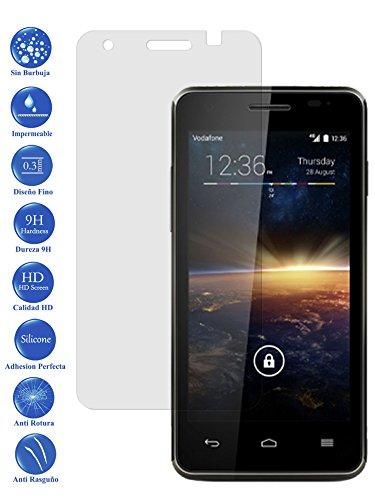 Todotumovil Protector de Pantalla Vodafone Smart 4 Turbo de Cristal Templado Vidrio 9H para movil