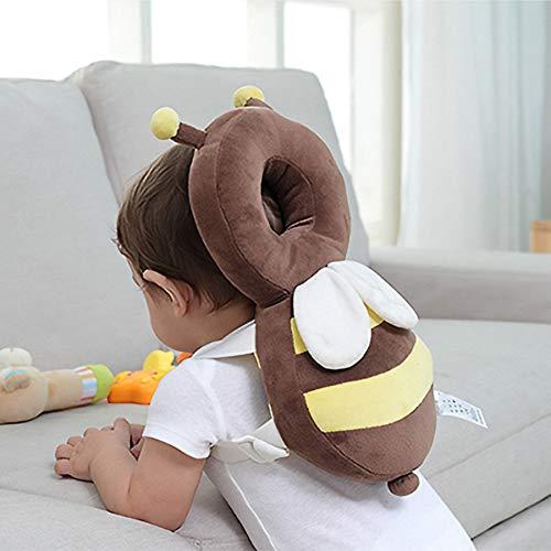 Babykopfkissen,Helm Schutz,Rucksack,Baby Kopfschutz Pad Kleinkind Kopfstütze Kissen Baby Nackenschutz Baby Kissen Kissen Baby Kopfschutz 34 * 18cm