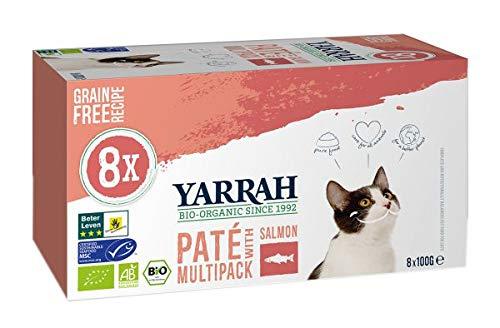 Yarrah - Bio Paté Multipack Lachs - 8 x 100 g