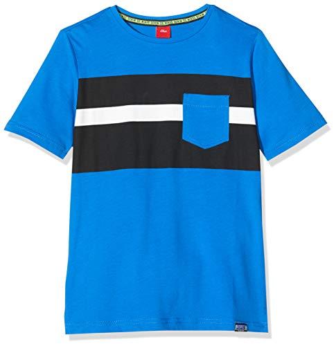 s.Oliver Junior T-Shirt Kurzarm Camiseta , Azul ( 5526 azul ) ,...