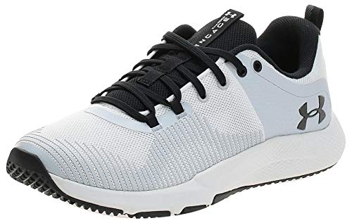 Under Armour Charged Engage, Zapatillas Hombre, Blanco (White/Halo Gray/Black 100), 40.5 EU