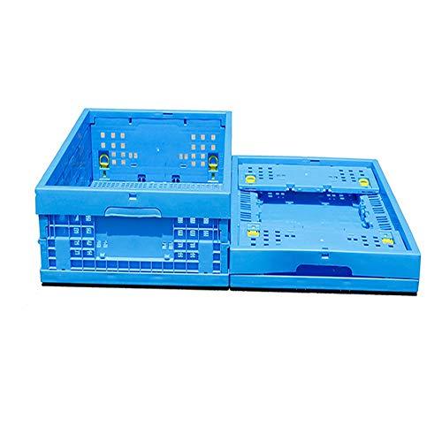 Cajas Cesta De Almacenamiento Plegables De Plástico Heavy Duty Plegable Apilable De...
