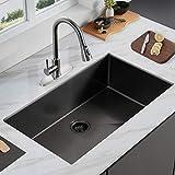 ALWEN 32' x 19' x 10' Undermount Kitchen Sink 16 Gauge Stainless Steel Single Bowl Kitchen Sink...