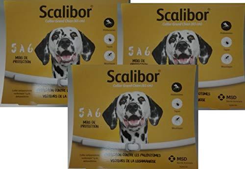 Scalibor 3 Collare Antiparassitario per Cani di Taglia Piccola e Media 48 cm