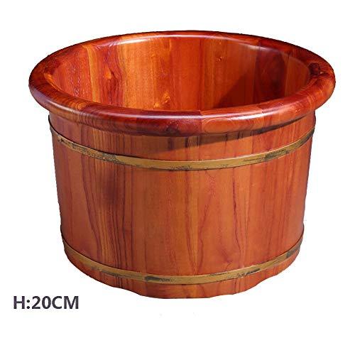 FAP pedicure massage van massief hout voetbad voetbad huis accessoires schoonmaken huishouden B hout kleur 2 B