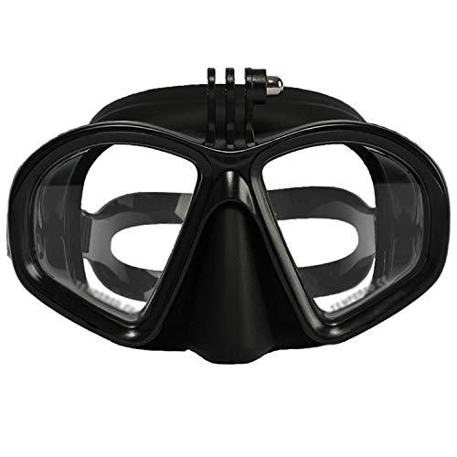 ZMYY - Occhialini da immersione, per bambini, con slot per telecamera di azione, panoramica, per immersioni e nuoto