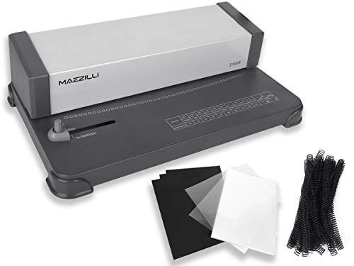 Kit Encadernadora Perfuradora A4 E Oficio + Arame + Capa