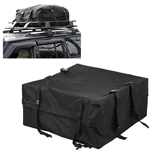 AYNEFY Waterproof Roof Travel Bag, Roofing Rack Bag Car Vehicle Roof Top Bag Rooftop Cargo Carrier Pack Bag Storage Box Luggage Rack Bag, 85 x 85 x 40cm