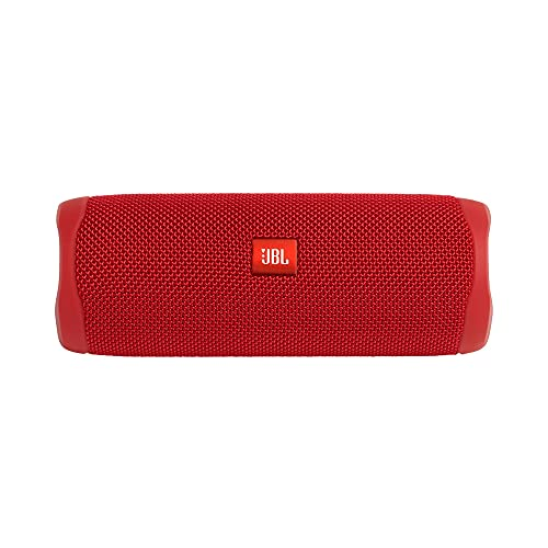 JBL FLIP 5 - Waterproof Portable Bluetooth Speaker - Red (New Model)