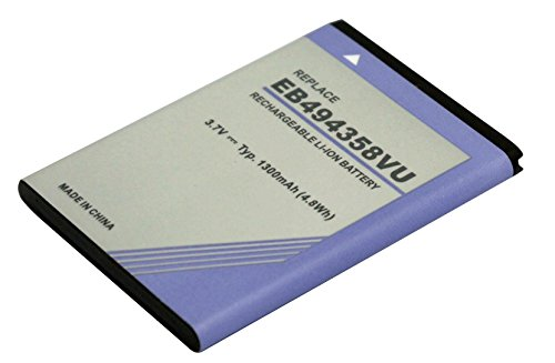 PowerSmart® 3.7V 1300mAh Li-ion Handy Akku für Samsung EB424255VA, EB464358VU, EB464358VUBSTD, EB494358VU, EB494358VUCSTD