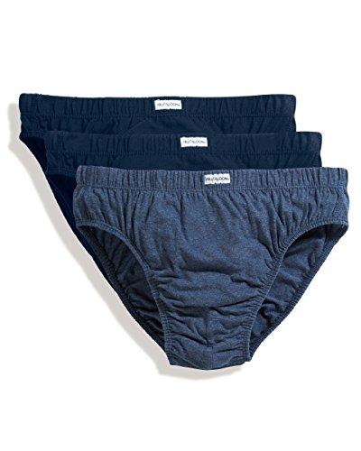 Fruit of the Loom klassische Herren-Slips,3er-Pack, Blau - navy - Größe: XL