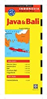 Java & Bali Travel Map Fourth Edition (Periplus Travel Maps)