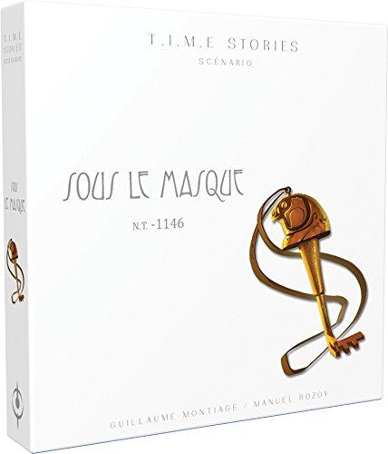 Time Stories - Extension : Sous le Masque - Asmodee - Jeu de société - Jeu de stratégie - Jeu coopératif