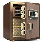 安全-電子パスワードセーフ、亜鉛合金材料、警報システム、大容量、こじ開けポイントなし、穴あけ防止および盗難防止/B / 45CM