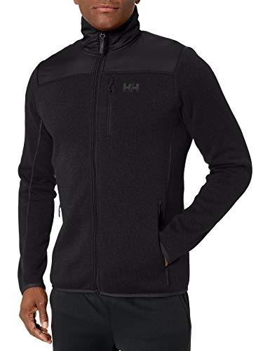 Helly Hansen Varde Fleece Jacket Chaqueta Deportiva, Negro, XL para Hombre