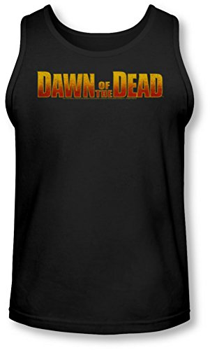 Dawn Of The Dead - - Aube Logo Tank-Top pour hommes, Medium, Black