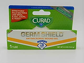 Curad Germ Shield Antimicrobial Gel 0.50 oz (Pack of 4)