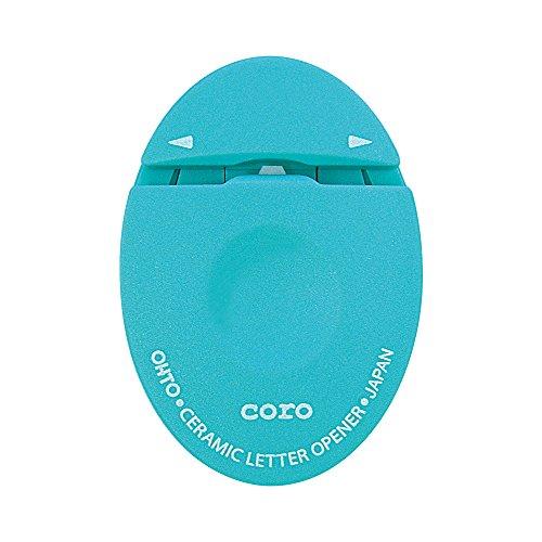 Ohto letter opener ceramic letter opener white CLO-700C-BL blue by CORO
