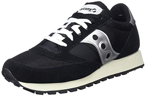 Saucony Jazz Original Vintage, Zapatillas de Cross Unisex Adulto, Negro (Black/White), 44.5 EU