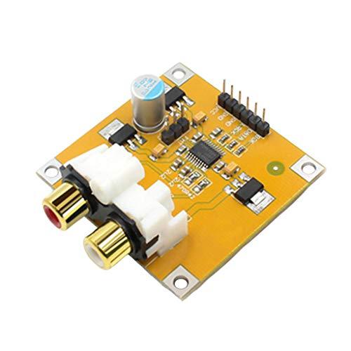 Almencla PCM5102 DC 5-10V Módulo Decodificador DAC | 5X5.5X2cm