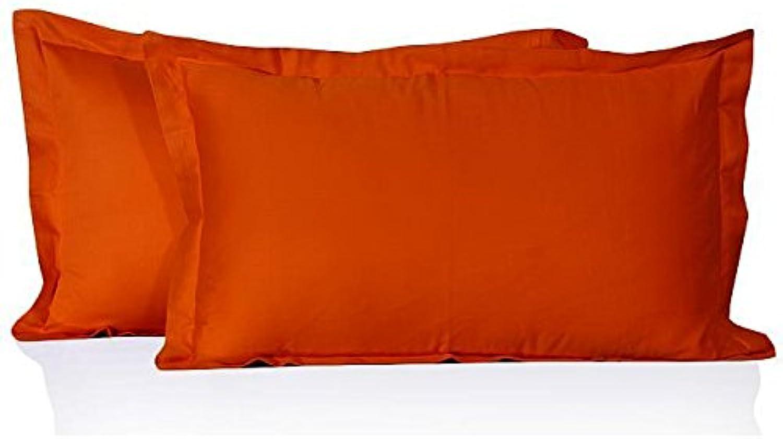 compras en linea Nuevo 650 hilos de algodón egipcio egipcio egipcio fundas de almohada de algodón triathlonsuits 650TC 100% naranja sólido  ofreciendo 100%