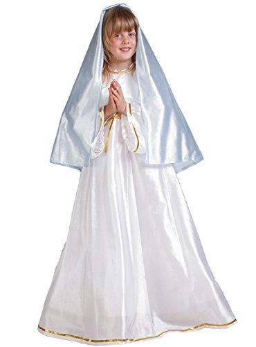 Nines d'Onil - Disfráz Infantíl Virgen Maria - Talla : 3 - 5 Años