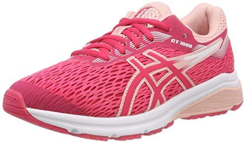 Asics Gt-1000 7 GS, Zapatillas de Entrenamiento Unisex Niños, Rosa (Pixel Pink/Frosted Rose 700), 35.5 EU
