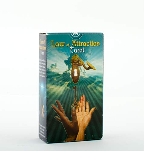 SCARABEO-JEUX Law of Attraction Tarot: New Edition, 78 Full Colour Tarot Cards And Instruction Booklet