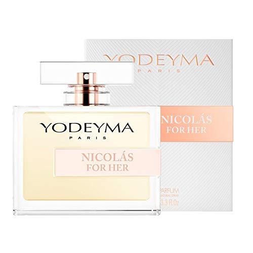 YODEYMA Dames Parfum - NICOLAS FOR HER Eau de Parfum 100 ml