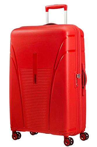 American Tourister Skytracer Spinner Maleta, 77 cm, 94 Litros, Rojo (Formula Rojo)