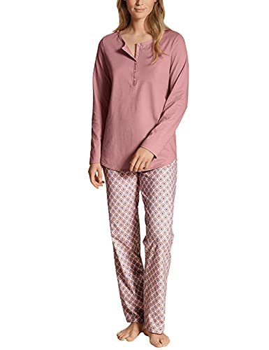 CALIDA Damen Lovely Nights Pyjamaset, Rose Bud, 52-54