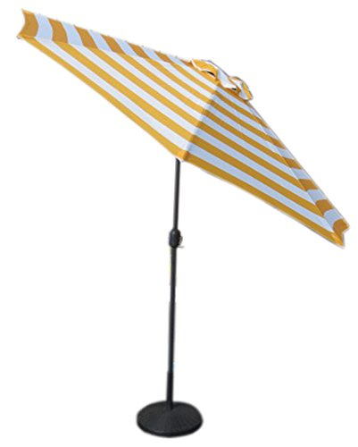 VMI M-03581 Yellow Striped Umbrella, Large