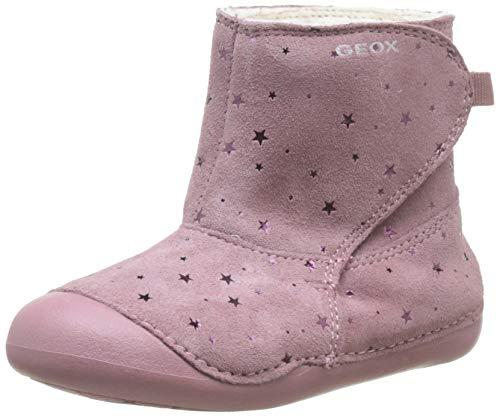 Geox Mädchen B Tutim A Stiefel, Pink (Dk Pink C8006), 19 EU