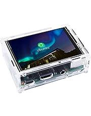Kuman 3.5インチ 320*480 モニター タッチパネル ラズパイ 液晶 Raspberry Pi用ディスプレイ 保護ケース デュアル 同時表示 ゲームとビデオ Raspberry Pi pi B+ 2 3 3B+に対応 ラズベリーパイ3 SC107