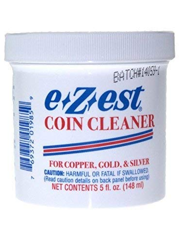 Price comparison product image 5oz e-Z-est Coin Cleaner for Gold Silver and Copper Coins