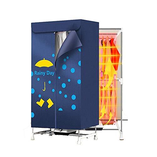 Secadora De Ropa Eléctrica Calentador Portátil Secadora por Temporizador AutomáTico rápido De Iones Negativos Useful Tech