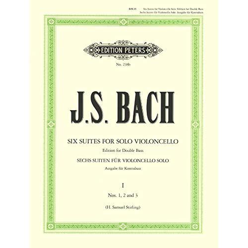 Johann Sebastian Bach: 6 Solo Violoncello Suites BWV 1007–1012 - Vol.1. Für Cello