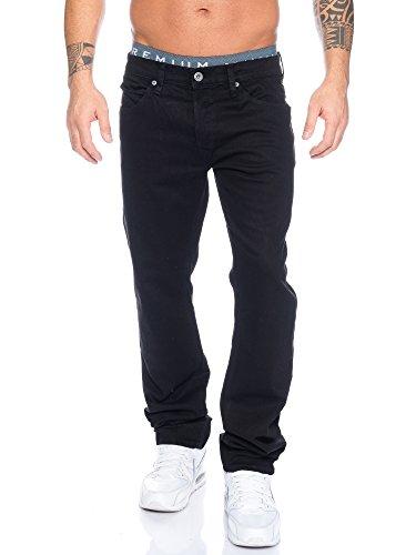 Blend Herren Jeans Niedriger Bund 700511/ Twister 76100 (former Twister /6907 100), Gr. 32/32, Schwarz -100