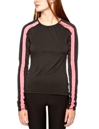 New Balance wrt1304Damen T-Shirt Long Sleeve S schwarz/rosa