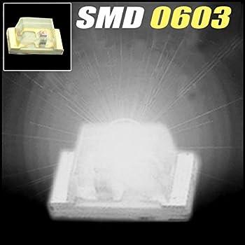 100 pcs SMD SMT 0603 Super bright GREEN LED lamp Bulb GOOD QUALITY